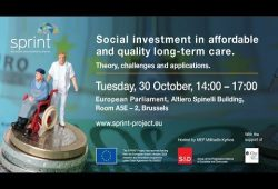 Event on Social investment in affordable and quality long-term care | Sprint-project